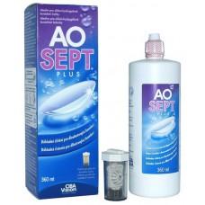 Пероксидный раствор для очистки линз AO SEPT Plus (360мл)