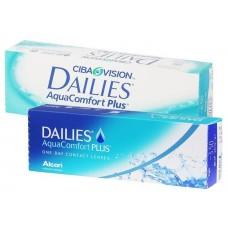 Контактные однодневные линзы DAILIES Aqua Comfort Plus (30 шт)