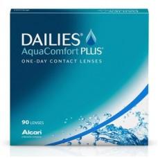 Контактные линзы DAILIES Aqua Comfort Plus (90 шт)