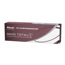 Однодневные контактные линзы DAILIES Total 1 (Дэйлис Тотал один)