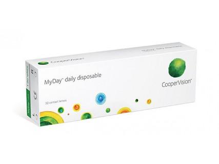 Однодневные контактные линзы MyDay (30 шт)