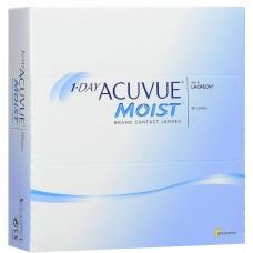 Однодневные контактные линзы 1-DAY ACUVUE Moist (90шт)