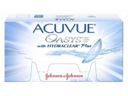 Контактные линзы Acuvue Oasys  (6шт / 12шт / 24шт)