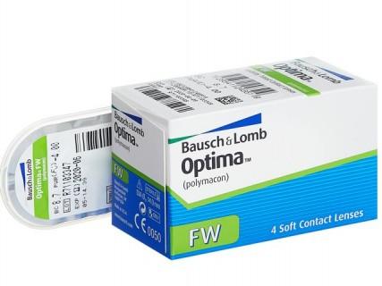 Контактные линзы Optima FW (Оптима ФВ) - традиционные ежеквартальные линзы