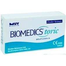 Контактные линзы Biomedics Toric (3шт)