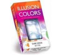 Цветные линзы Illusion Colors Shine (2шт)