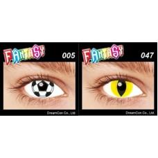 Карнавальные контактные линзы Fantasy lens