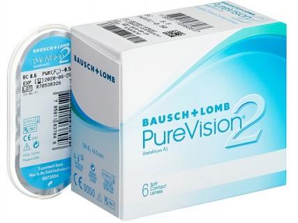 Контактные линзы PureVision 2 (пью вижн 2)