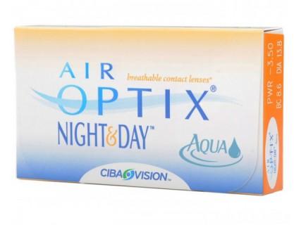 Контактные линзы Air Optix Night & Day aqua (3шт)
