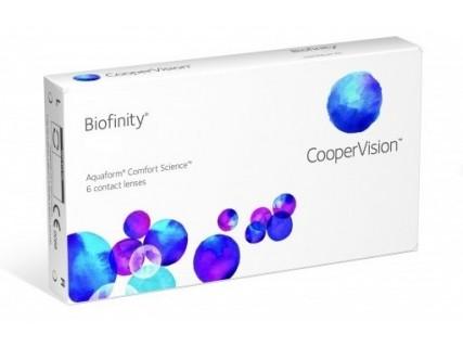 Контактные линзы Biofinity (6шт)
