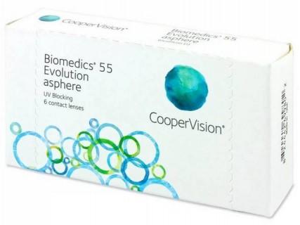 Контактные линзы Biomedics 55 Evolution (6pk)