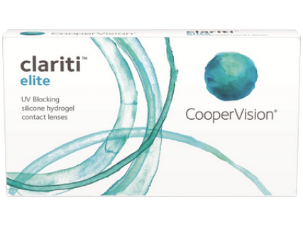 Силикон-гидрогелевые линзы третьего поколения Clariti Elite