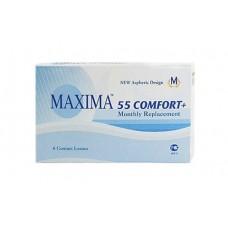 Контактные линзы Maxima 55 Comfort+ (6 шт)