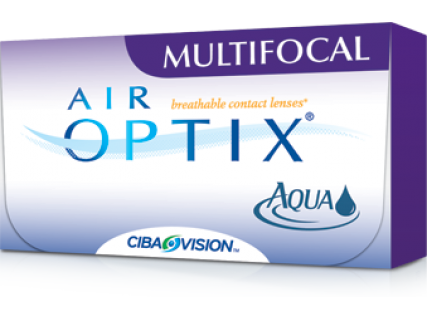 Контактные линзы Air Optix aqua Multifocal (3шт)