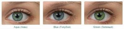 оттеночные контактные линзы Ultrflex